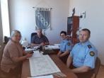 Susitikimas su Rokiškio rajono savivaldybės Obelių seniūnijos darbuotojais