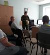 Susitikimas su krašto apsaugos savanorių pajėgų atstove