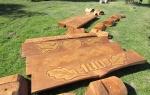 Nuteistųjų pagaminti suoliukai – šiauliškių poilsiui