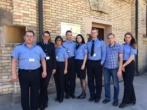 Įstaigoje lankėsi pareigūnai iš Vilniaus pataisos namų