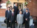 Japonijos delegacijos vizitas Pusiaukelės namuose