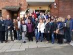 Suomijos bausmių vykdymo tarnybos atstovai Vilniaus pataisos namuose