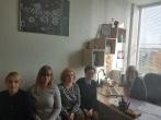 Susitikimas su Panevėžio apskrities Vaiko teisių apsaugos skyriaus patarėja bei kitomis vyriausiomis specialistėmis Rokiškio rajone