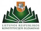 Pravieniškių pataisos namuose-atvirojoje kolonijoje vyko 12-ojo Konstitucijos egzamino II etapas