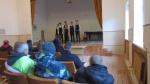 Vilkijos gimnazistai padovanojo nuteistiesiems spektaklį