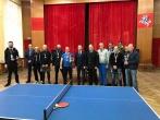 Stalo teniso turnyras tarp Pusiaukelės namų komandų