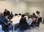 """Pusiaukelės namų kolektyvas lankėsi Pabėgėlių ir migrantų integracijos centre """"InLT"""""""