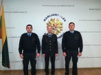 Prisiekė tarnauti Lietuvos valstybei naujai priimti į pareigas pataisos pareigūnai