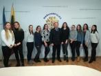 Įstaigoje lankėsi MRU Viešojo saugumo akademijos studentės