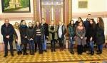 Įstaigoje lankėsi Mykolo Romerio universiteto studentai
