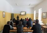 """Lukiškių tardymo izoliatoriuje-kalėjime organizuota paskaita – užsiėmimas """"Šeima - didžiausia vertybė"""""""