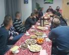 Šv. Kūčių vakarienė Alytaus pusiaukelės namuose