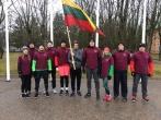 Bėgimas Alytaus gatvėmis Lietuvos valstybės atkūrimo dienai paminėti