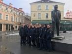 Mokymo centro kursantai, minėdami Lietuvos valstybės atkūrimo dieną, lankėsi signatarų namuose