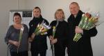 Lietuvos probacijos tarnybos Panevėžio regiono skyriuje šventinės nuotaikos