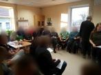 M. Romerio universiteto studentų paskaita Pusiaukelės namuose