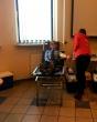 Nacionalinio kraujo centro organizuojamoje donorytės akcijoje dalyvavo ir pareigūnai, ir priežiūroje esantys asmenys