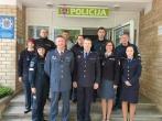 Dėkojame policijos pareigūnams už bendrystę