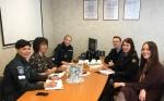Vilniaus regiono skyriaus darbuotojų susitikimas su policijos pareigūnais ir socialiniais partneriais