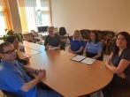 Susitikimas su Panevėžio rajono savivaldybės administracijos Paįstrio seniūnijos darbuotojais