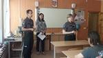 Panevėžio regiono skyriaus specialistė lankėsi ugdymo įstaigose