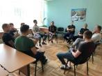 """Pusiaukelės namuose lankėsi VšĮ """"Actio Catholica Patria"""" savanoriai"""