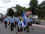Marijampolės pataisos namų darbuotojai dalyvavo šventinėje eisenoje