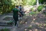 Nuteistieji tvarkė perlaidotų kunigų ir vienuolių kapus Veršvų kapinėse