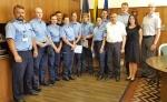 Į Vilniaus pataisos namų kolektyvą įsiliejo devyni jauni pirminės grandies pareigūnai