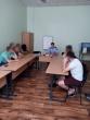 Vilniaus regiono skyriaus pareigūnas susitiko su Vilniaus pataisos namų Pusiaukelės namų nuteistaisiais