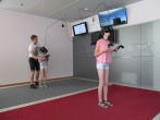 Marijampolės Pusiaukelės namų gyventojai vaikams dovanojo apsilankymą virtualios realybės kambaryje