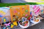 Panevėžio miesto šventėje eksponuoti bausmę atliekančių moterų kūrybos darbai