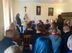 Įstaigoje pašventinta atnaujinta koplyčia