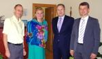 Įstaigoje viešėjo Lietuvos Respublikos teisingumo viceministras