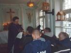 Dvasininko apsilankymas pradžiugino nuteistuosius