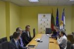 Kalėjimų departamento vadovybė susitiko su profesinių sąjungų atstovais