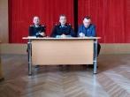 Marijampolės pataisos namuose lankėsi Kalėjimų departamento direktorius Virginijus Kulikauskas ir pavaduotojas Gintautas Šarauskas