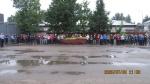 Pirmajame sektoriuje nuskambėjo Lietuvos himnas