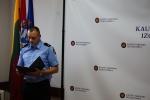 Prisiekė tarnauti Lietuvos valstybei naujai priimtas pataisos pareigūnas