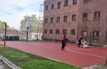Šiaulių tardymo izoliatoriuje atnaujinti sporto aikštynai