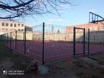 Įrengta lauko sporto aikštelė