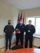 Saugumo valdymo skyriaus specialisto paskatinimas medaliu