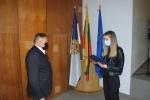 Prisiekė tarnauti Lietuvos valstybei naujai priimta pataisos pareigūnė