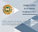 Mokymo centras kviečia mokytis ir įgyti pataisos pareigūno profesiją