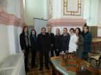 Vilniaus universiteto Bendrosios psichologijos katedros docentės Ilonos Čėsnienės  ir Teisės psichologijos studentų vizitas