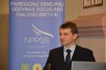 Konferencija: Kuriame geresnę tarnybos aplinką. Pasirengimas kolektyvinių sutarčių sudarymui