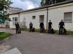 Vilniaus pataisos namuose, dalyvaujant Lietuvos policijos kinologams, buvo atlikta bendroji krata