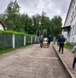 Nuteistieji savanoriauja Ruklos pabėgėlių priėmimo centre