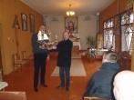 Įstaigos administracija ir nuteistieji atsisveikino su kapelionu Antanu Matusevičiumi